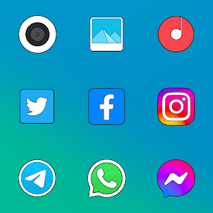 MIU! 12 Limitless - Icon Pack Screenshot