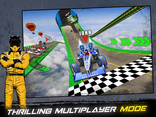 Impossible Formula Jet Car Racing Stunts  screenshots 7