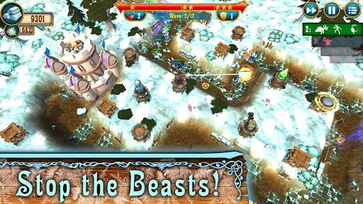 Fantasy Realm TD. Offline Tower Defense Game  screenshots 2
