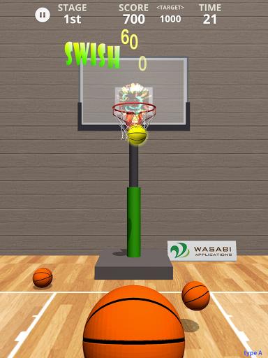 Swish Shot! Basketball Shooting Game screenshots 13