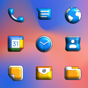 Pixly Limitless 3D APK- Icon Pack (PAID) Download Latest 2