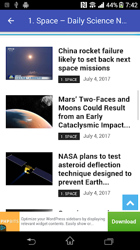 Science News | Science Discoveries & Inventions 9.1 screenshots 9