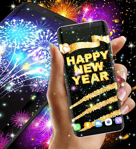 Happy new year 2021 live wallpaper 16.6 Screenshots 6