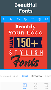 Logo Maker - Free Graphic Design & Logo Templates Screenshot