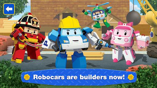 Robocar Poli: Builder! Games for Boys and Girls!  screenshots 2