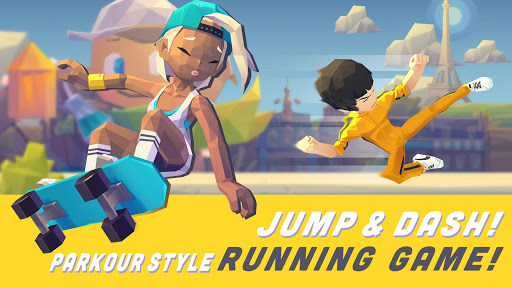 Code Triche Smashing Rush : Parkour Action Run Game APK MOD (Astuce) screenshots 1
