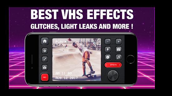 RAD VHS- Glitch Camcorder VHS Vintage Photo Editor screenshots 2