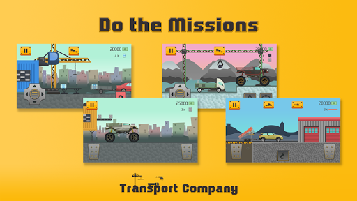 transport company - extreme hill game screenshot 1