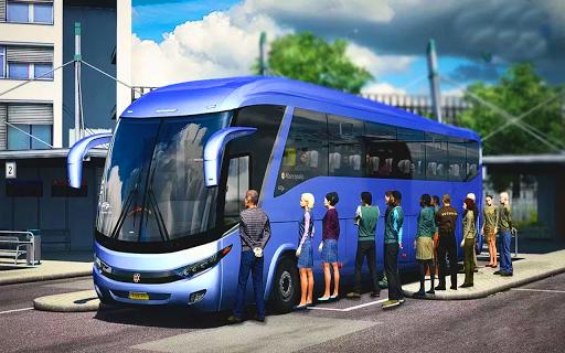 US Smart Coach Bus 3D: Free Driving Bus Games 1.0 Screenshots 7