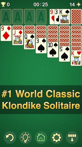 Solitaire Klondike - classic offline card game  screenshots 1