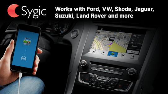 Sygic Car Connected Navigation 1