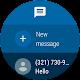 screenshot of Messages