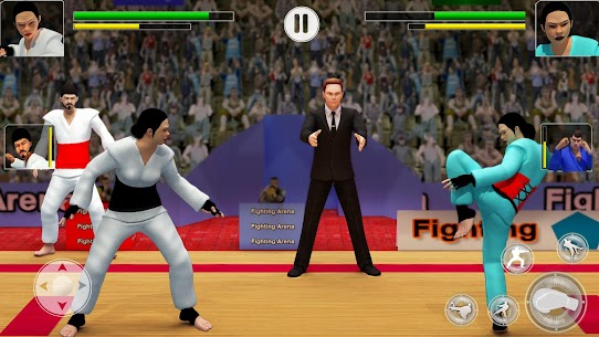 Karate Fighting Games: Kung Fu King Final Fight 6