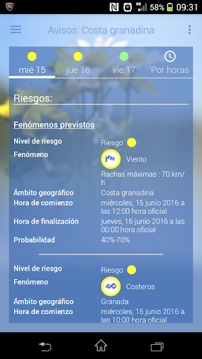 El tiempo de AEMET 2.1 Screenshots 6