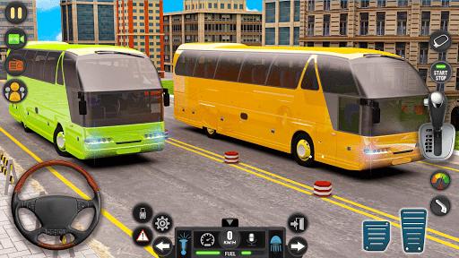 Public Transport Bus Coach: Taxi Simulator Games apktram screenshots 5