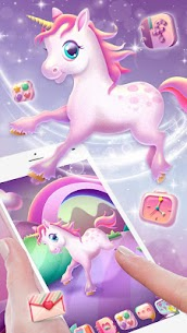 Pink Unicorn Launcher Theme Live HD Wallpapers 1.0 Android APK Mod 3