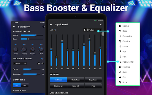 Music Player - Audio Player & 10 Bands Equalizer android2mod screenshots 12