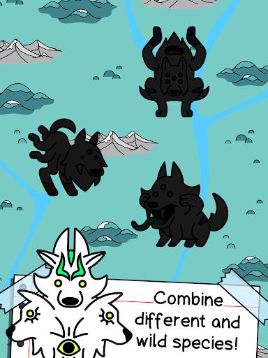Wolf Evolution - Merge and Create Mutant Wild Dogs screenshots 7