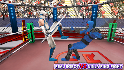 Real Robot Ninja Ring Fight: Fighting Games 2020
