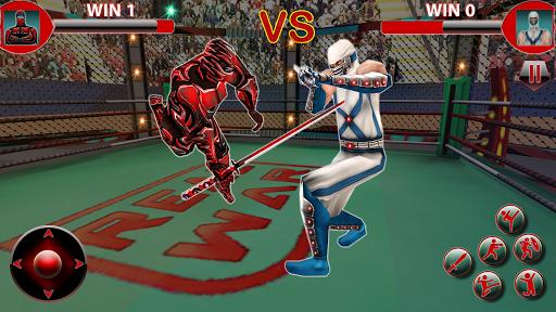 Real Robot Ninja Ring Fight: Fighting Games 2020 apktreat screenshots 2