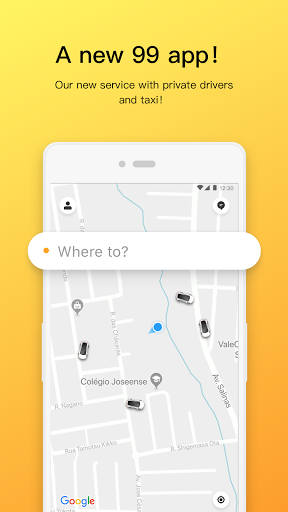 99 - Private Driver and Taxi  screenshots 1