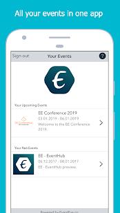 EE - EventHub screenshots 3