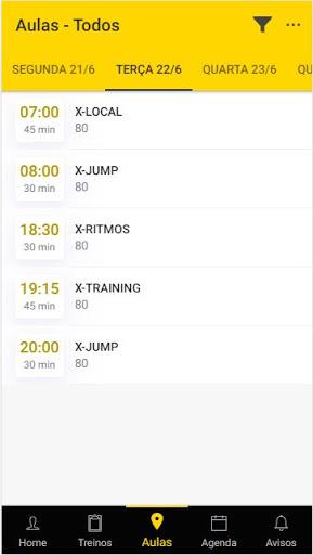 Xtrack Academia screenshot 1
