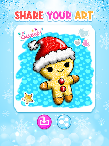 Christmas Coloring Game - Learn Colors  screenshots 10