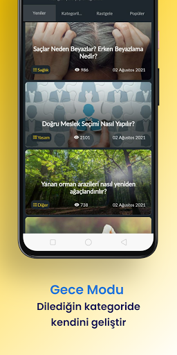 Akademia - Her Gu00fcn Yeni u015eeyler u00d6u011frenin! android2mod screenshots 20