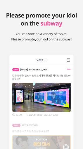 IDOLCHAMP - Showchampion, Fandom, K-pop, Idol android2mod screenshots 4