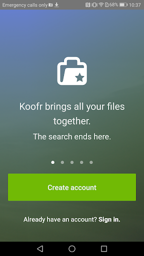 Koofr: The Best Cloud Storage modavailable screenshots 1