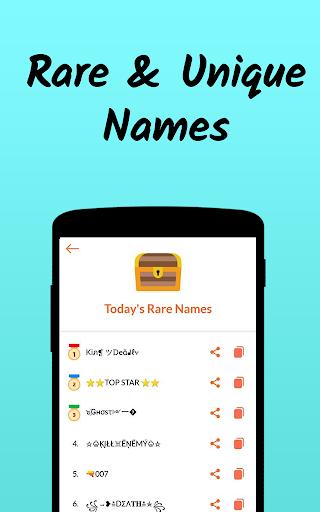 Nickname Fire ud83dudd25 : Free Nickfinder App ud83dudc8e android2mod screenshots 7