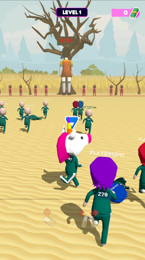Squid Game 3D: Online Squids Game screenshot 24