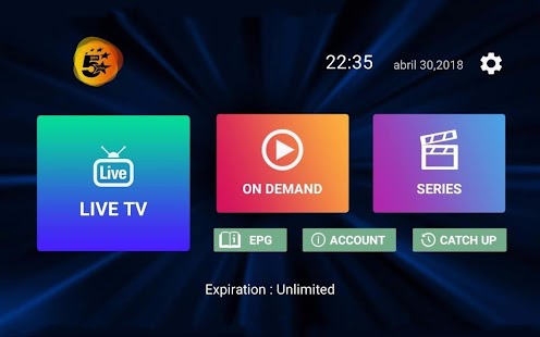 IPTV5 LITE Screenshot
