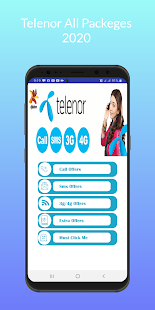 Telenor All Packages 2021 Call, Sms,Internet 2.9 APK screenshots 3