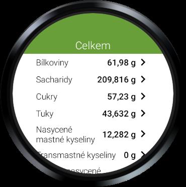 Kaloricku00e9 Tabulky u2013 hubnutu00ed a pou010du00edtu00e1nu00ed kaloriu00ed android2mod screenshots 11