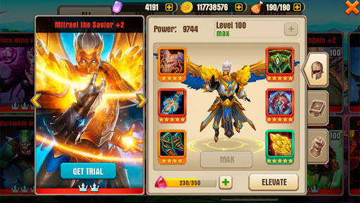 Juggernaut Wars - raid RPG games 1.4.0 screenshots 3