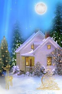 christmas snow hack