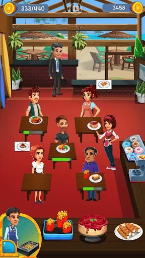Cooking Cafe - Food Chef apkslow screenshots 8
