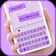 Simple Purple SMS Tema Tastiera per PC Windows