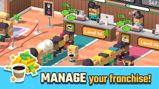 Idle Coffee Corp (MOD, Unlimited Money) 1