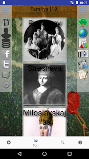 Genealogical trees of families screenshots 1