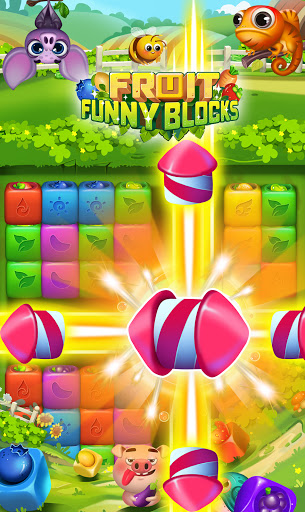 Fruit Funny Blocks apkslow screenshots 5