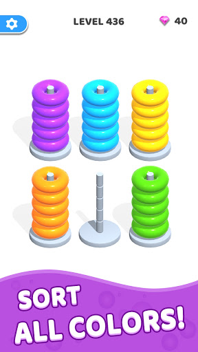 Color Hoop Stack - Sort Puzzle 1.0.3 screenshots 3