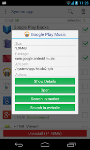 Free System app remover (root needed) Apk Download 2021 3
