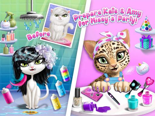 Cat Hair Salon Birthday Party - Virtual Kitty Care 8.0.80007 screenshots 10