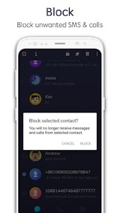 TextU – Private SMS Messenger, Call app 3