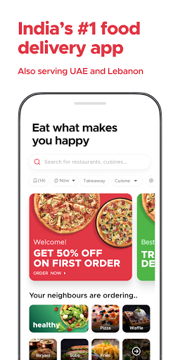 Zomato - Online Food Delivery & Restaurant Reviews android2mod screenshots 1