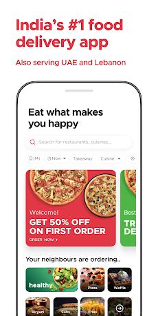Zomato - Online Food Delivery & Restaurant Reviewsのおすすめ画像1