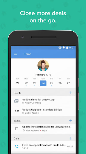 Zoho CRM - Sales & Marketing 3.5.8.1 screenshots 1